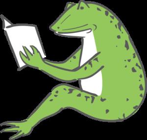 読むカエル