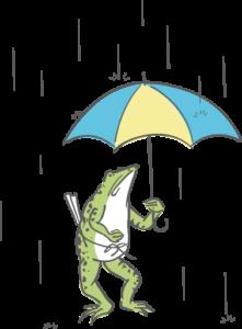 雨のかえる